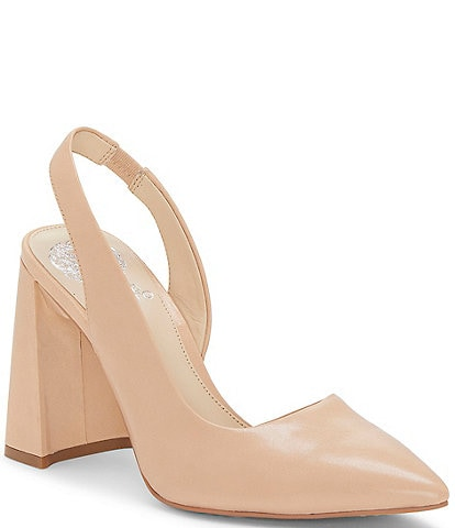Vince Camuto Analees Leather D'Orsay Pumps