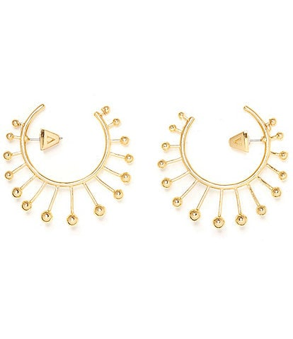 Vince Camuto Architectural Hoop Earrings