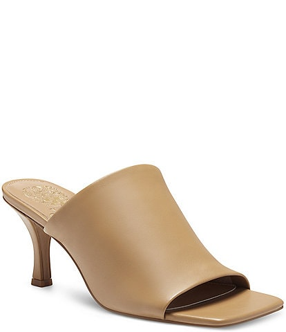 Vince Camuto Arlinala Leather Dress Mules
