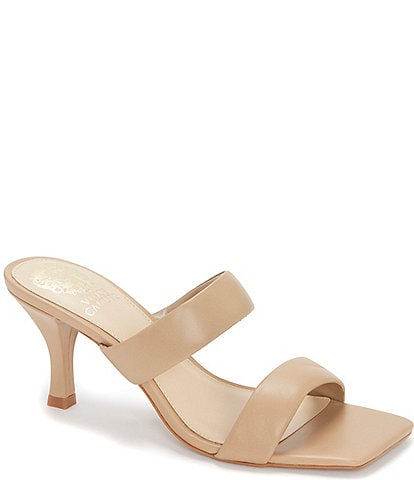 Vince Camuto Aslee Leather Dress Mules