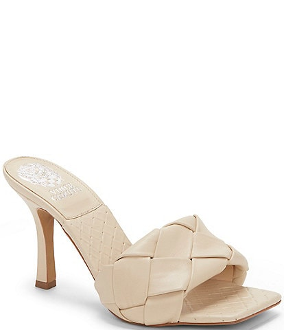 Vince Camuto Brelanie Leather Dress Mules