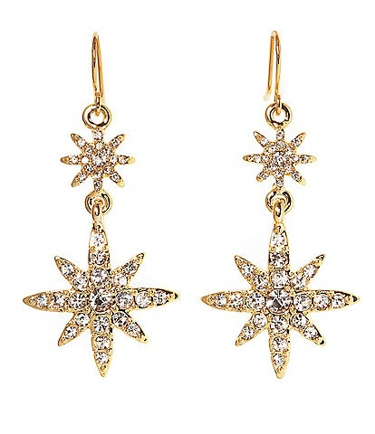 Vince Camuto Celestial Double Drop Earrings