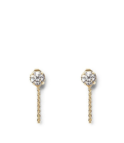 Vince Camuto Chain Swag Stud Earrings