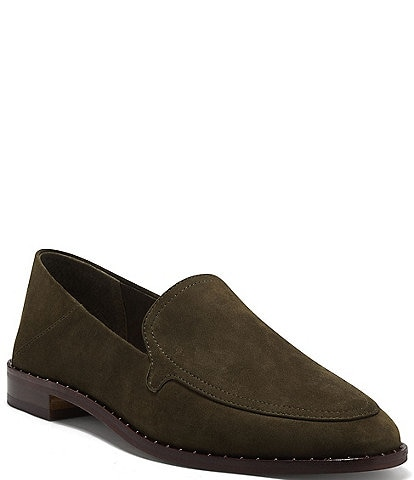 Vince Camuto Cretinian Suede Loafers