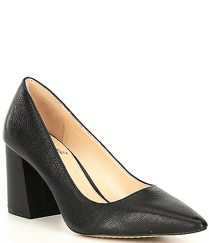 Vince Camuto Frittam Leather Pumps