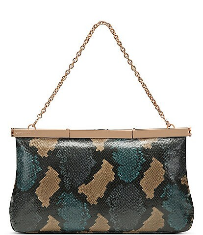 Vince Camuto Jessa Snake Embossed Clutch