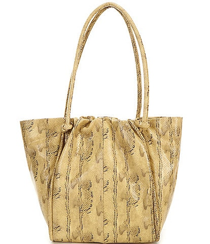 Vince Camuto Snake Printed Leather Jude Tote Bag