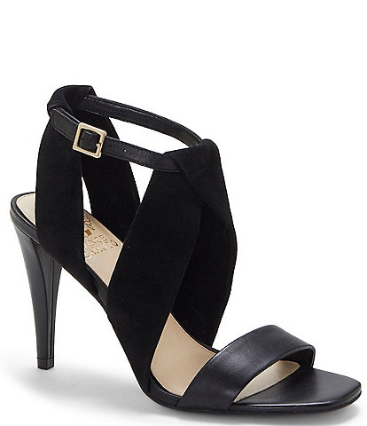 Vince Camuto Kalintie Suede Leather Dress Sandals