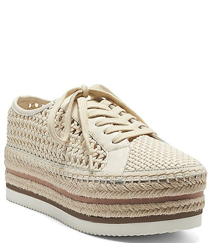 Vince Camuto Kemmiy Woven Oxford Espadrilles