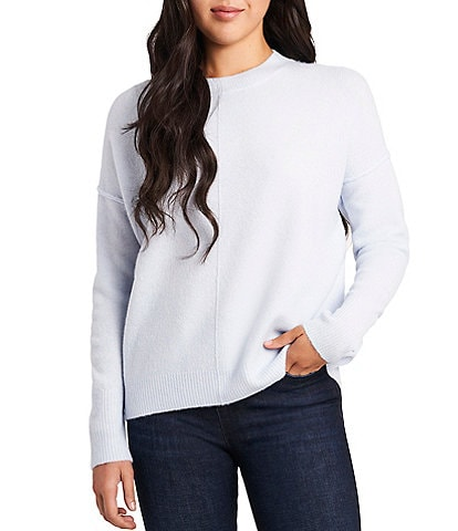 Vince Camuto Long Sleeve Crew Neck Pullover Sweater