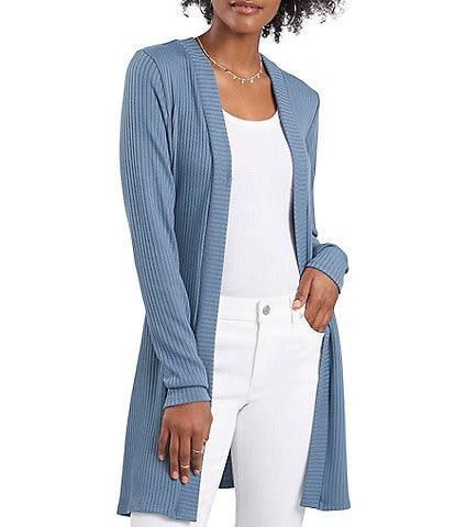 Vince Camuto Long Sleeve Rib Knit Cardigan