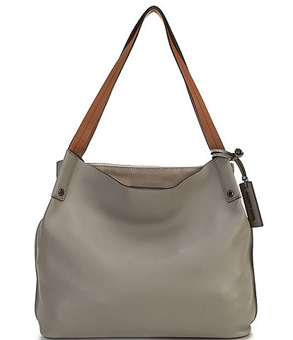 Vince Camuto Maylyn Leather Snap Tote Bag
