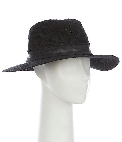 Vince Camuto Nubby Packable Panama Hat
