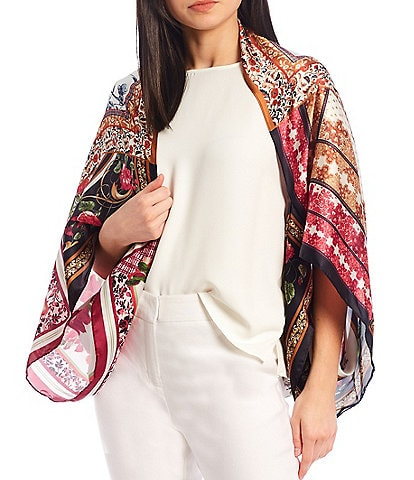 Vince Camuto Patchwork Scarves Cocoon