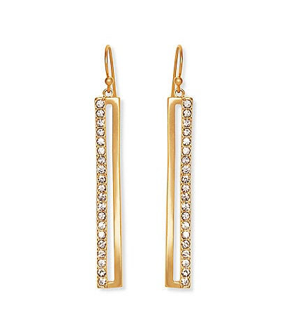 Vince Camuto Pave Linear Earrings