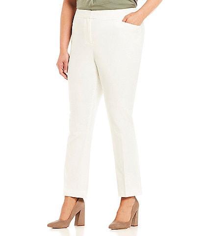 Vince Camuto Plus Size Front Zip Pant