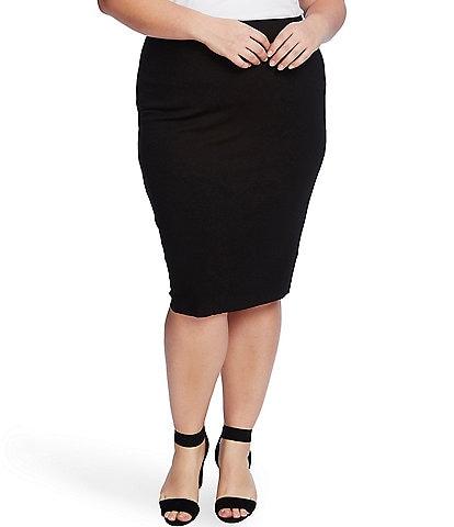 Vince Camuto Plus Size Midi Tube Skirt