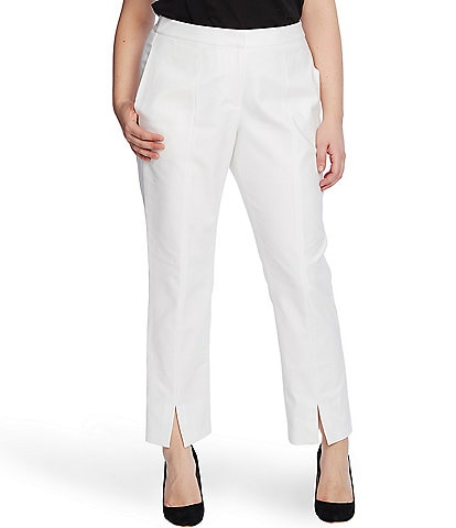 Vince Camuto Plus Size Slim Leg Split Ankle Pants