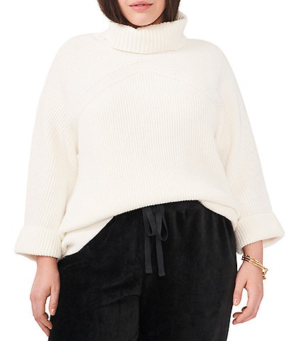 Vince Camuto Plus Size Turtleneck Long Sleeve Sweater