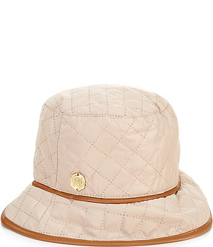 Vince Camuto Quilted Nylon Rain Bucket Hat
