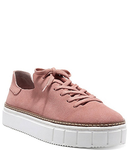 Vince Camuto Raiza Suede Lace-Up Sneakers