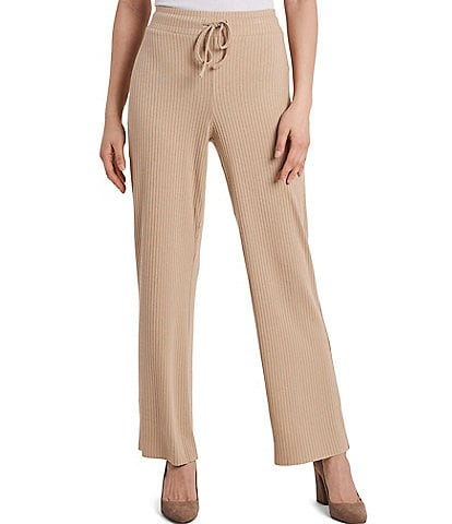 Vince Camuto Rib Knit Wide Leg Pants