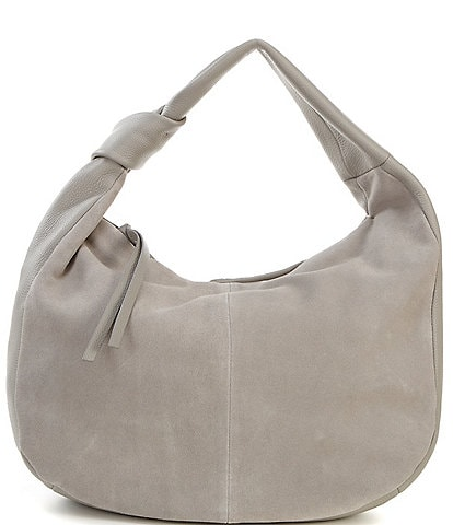 Vince Camuto Shany Brushed Leather Hobo Bag
