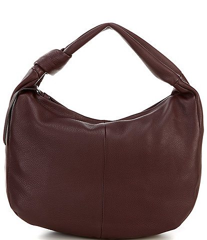 Vince Camuto Shany Textured Leather Hobo Bag