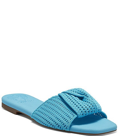 Vince Camuto Skylinna Washable Knotted Flat Sandals