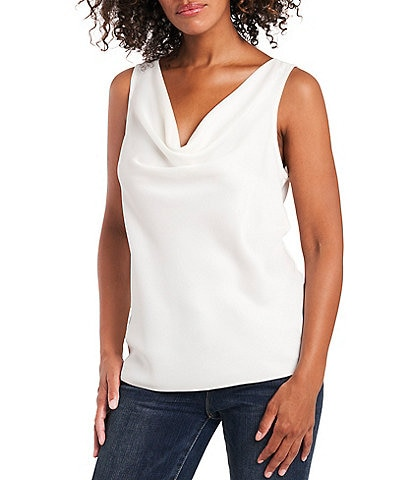 Vince Camuto Sleeveless Cowl Neck Tank