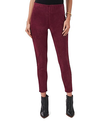 Vince Camuto Stretch Faux Suede Pull-On Leggings