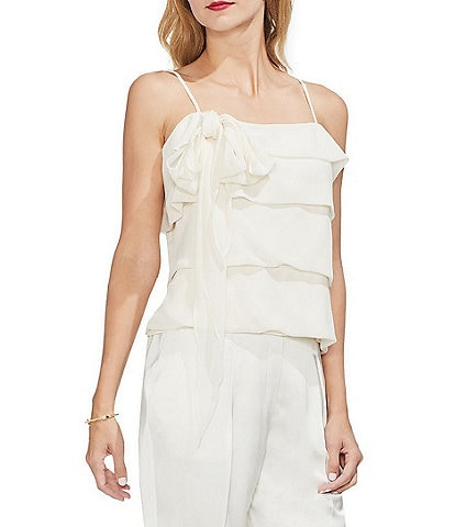 Vince Camuto Tiered Chiffon Cami