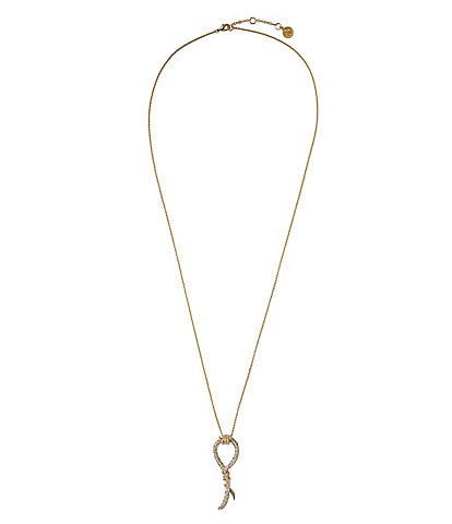 Vince Camuto Twist Crystal Pendant Necklace