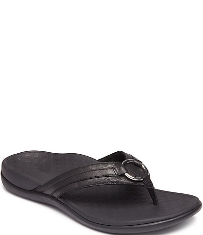 Vionic Aloe Suede Thong Sandals
