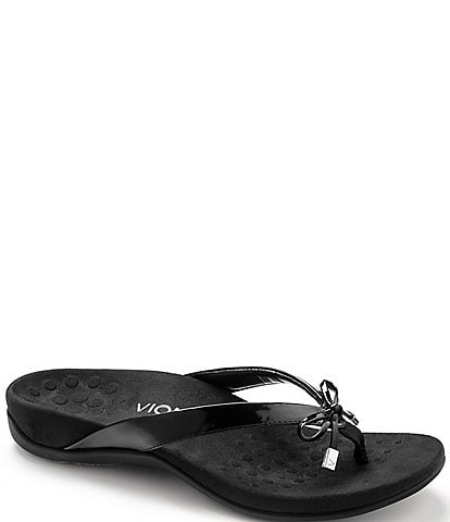 8cd3a4973 Vionic Bella II Bow Detail Flip-Flops
