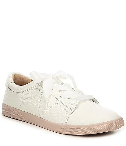 Vionic Chantelle Leather Lace Up Sneaker