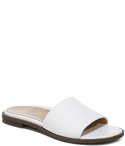 Vionic Demi Crinkle Crocodile Slide Sandals