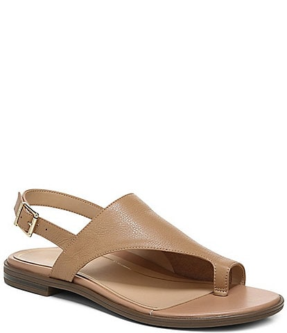 Vionic Ella Leather Thong Sandals