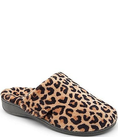 Vionic Gemma Leopard Slippers