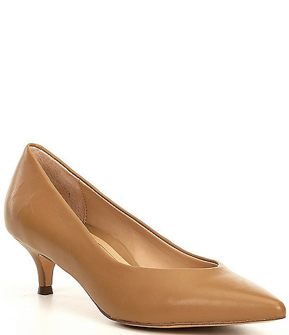 Vionic Josie Leather Pumps