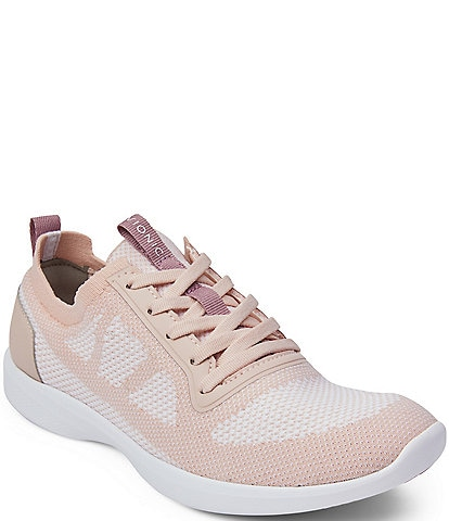 Vionic Lenora Mesh & Fabric Lace Sneakers