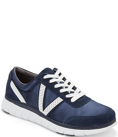 Vionic Nana Satin & Leather Sneakers
