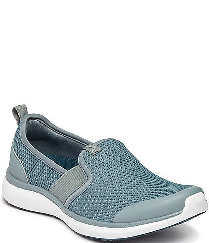 Vionic Pro Julianna Mesh Wedge Slip Ons