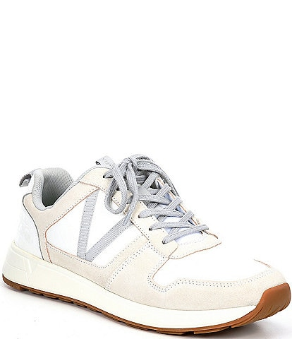 Vionic Rechelle Croc Embossed Lace-Up Sneakers