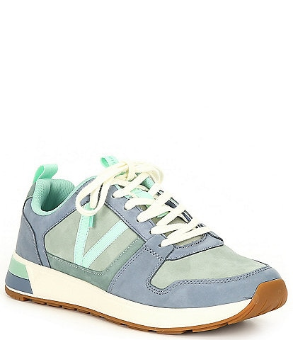 Vionic Rechelle Leather Lace-Up Sneakers