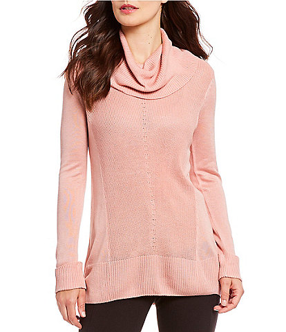 Vision 155 Long Sleeve Cowl Neck Sweater