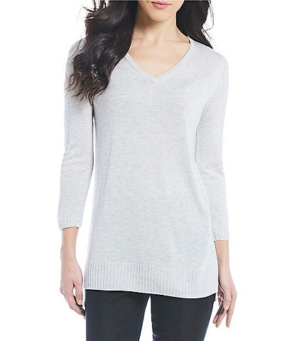 Vision 155 V-Neck 3/4 Sleeve Knit Top