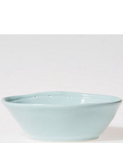 Viva by Vietri Fresh Glazed Stoneware Small Oval Bowl