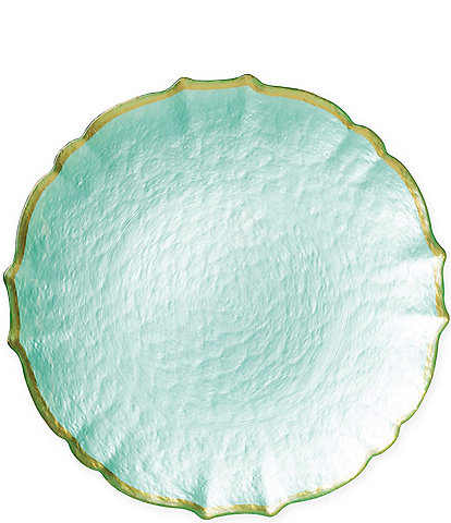 Viva by Vietri Pastel Glass Service Plate/Charger
