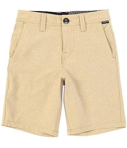 Volcom Big Boys 8-20 Surf N' Turf Static Hybrid Shorts